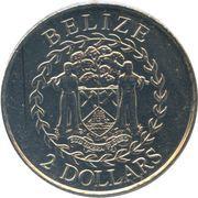 2 Dollars - Elizabeth II (Independence) – obverse