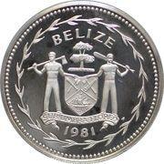 10 Dollars - Elizabeth II (Roseate Spoonbill silver) – obverse