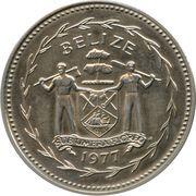 5 Dollars - Elizabeth II (Keel-billed Toucan) – obverse