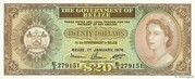 20 Dollars - Elizabeth II – obverse