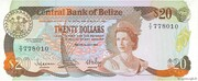 20 Dollars - Elizabeth II (Central Bank) – obverse