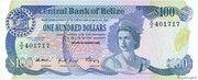 100 Dollars - Elizabeth II (Central Bank) – obverse