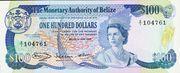 100 Dollars - Elizabeth II (Monetary Authority) – obverse