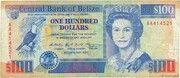 100 Dollars - Elizabeth II – obverse