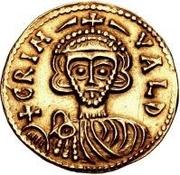 1 Solidus - Grimoald III – obverse