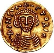 1 Tremissis - Arichis II, Duke (With wedges) – obverse