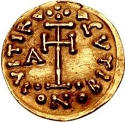 1 Tremissis - Arichis II, Duke (With wedges) – reverse