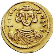 1 Solidus - Gregory / In the name of Leo III, 717-741 – obverse