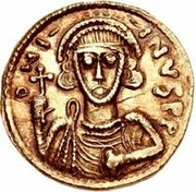 1 Solidus - Anonymous / In the name of Justinian II, 705-711 – obverse