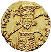 1 Solidus - Anonymous / In the name of Constantine IV, 668-685 – obverse