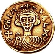 1 Solidus - Grimoald III & Charlemagne, King of the Franks – obverse