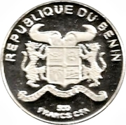 500 Francs CFA (World Cup) – obverse
