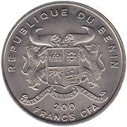 200 Francs CFA (Acanthopholis) – obverse