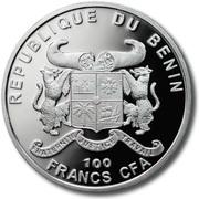 100 Francs CFA (Cannabis Sativa) – obverse