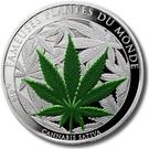 100 Francs CFA (Cannabis Sativa) – reverse