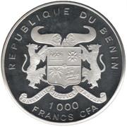 1000 Francs CFA (Sauvons le pays) – obverse