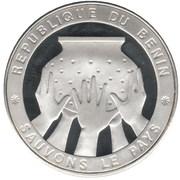 1000 Francs CFA (Sauvons le pays) – reverse