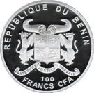 100 Francs CFA (Abies Numidica) – obverse