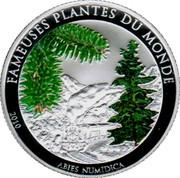 100 Francs CFA (Abies Numidica) – reverse