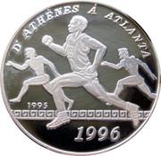 1000 Francs CFA (Olympics) – reverse