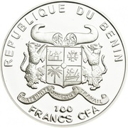 100 Francs CFA (Convallaria majalis) – obverse