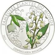 100 Francs CFA (Convallaria majalis) – reverse
