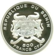 500 Francs CFA (Euro Introduction) – obverse