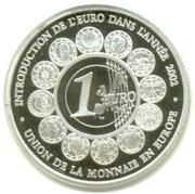 500 Francs CFA (Euro Introduction) – reverse