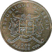 200 Francs CFA (Preussen) – obverse