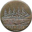 200 Francs CFA (Preussen) – reverse