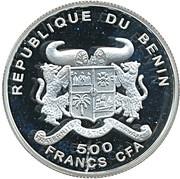 500 Francs CFA (L.van Beethoven) – obverse