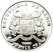 1000 Francs CFA (Lindau Lighthouse) – obverse