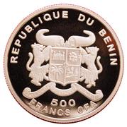 500 Francs CFA (A. Einstein) – obverse