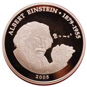 500 Francs CFA (A. Einstein) – reverse