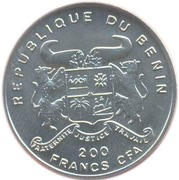 200 Francs CFA (WWI Austrian Hansa-Brandenburg) – obverse
