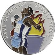 1000 Francs CFA (2000 Summer Olympics) – reverse