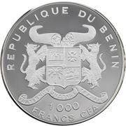 1000 Francs CFA (2000 Summer Olympics) – obverse