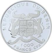 1000 Francs CFA (Steamship) -  obverse