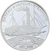 1000 Francs CFA (Steamship) -  reverse
