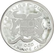 1000 Francs CFA (Sailing Ship - Preussen) – obverse