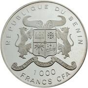 1000 Francs CFA – obverse