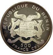 500 Francs  (Junkers JU 52) – obverse