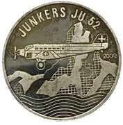 500 Francs  (Junkers JU 52) – reverse