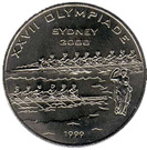 200 Francs CFA (Sydney Olympics) – reverse