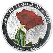 100 Francs CFA (Tea Rose) – reverse