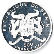 500 Francs CFA (Ferdinand Graf von Zeppelin) – obverse