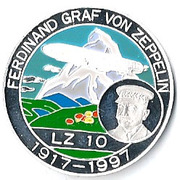 500 Francs CFA (Ferdinand Graf von Zeppelin) – reverse