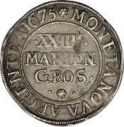 24 Mariengroschen - Johann Adolf – reverse