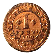 1 Pfennig - Moritz Kasimir I – reverse