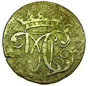 6 Pfennige - Moritz Kasimir I – obverse